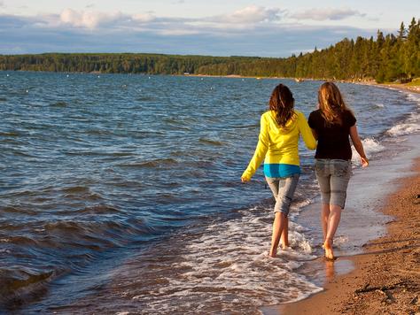 Saskatchewan: Strandleben, wo man es nicht vermuten würde