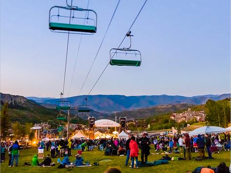 Musik-Events in den Bergen Colorados