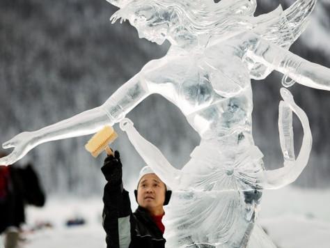 25 Jahre Ice Magic Festival am Lake Louise