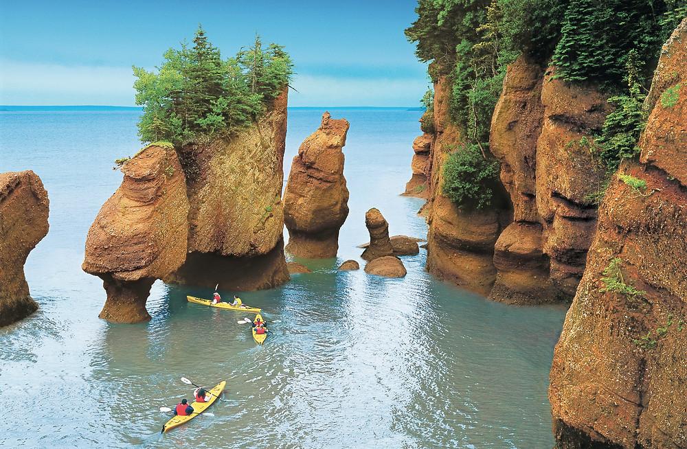 Bay of Fundy - Hopewell Rocks © Tourism New Brunswick