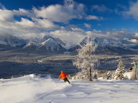 Lake Louise bestes kanadisches Skigebiet
