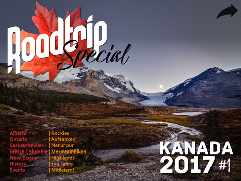 RoadTrip Kanada 150 Special No. 1 ist online!