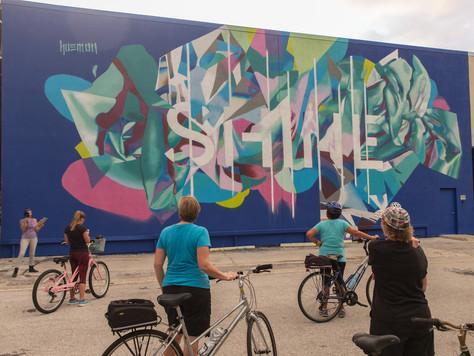 SHINE-Festival: Neue Wandkunst für St. Pete, Florida