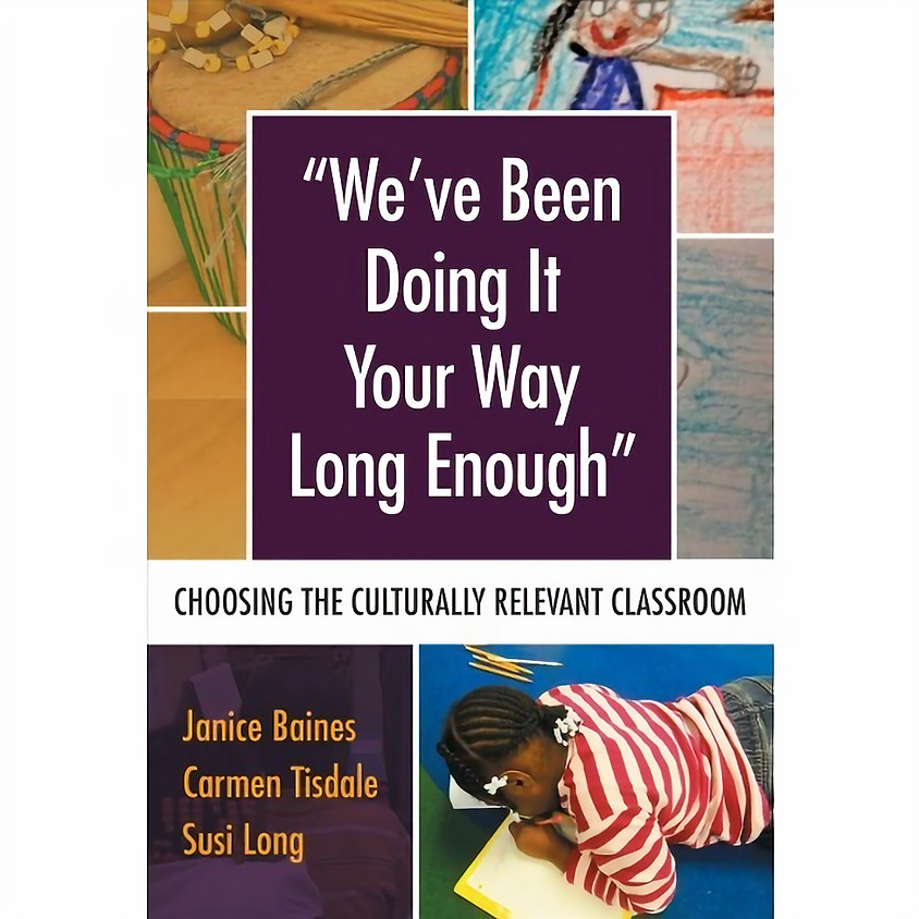 """Book Discussion: """"We've been doing it your way long enough."""""""