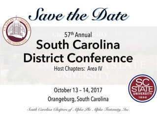 Save the Date - 5th Annual South Carolina District Conference