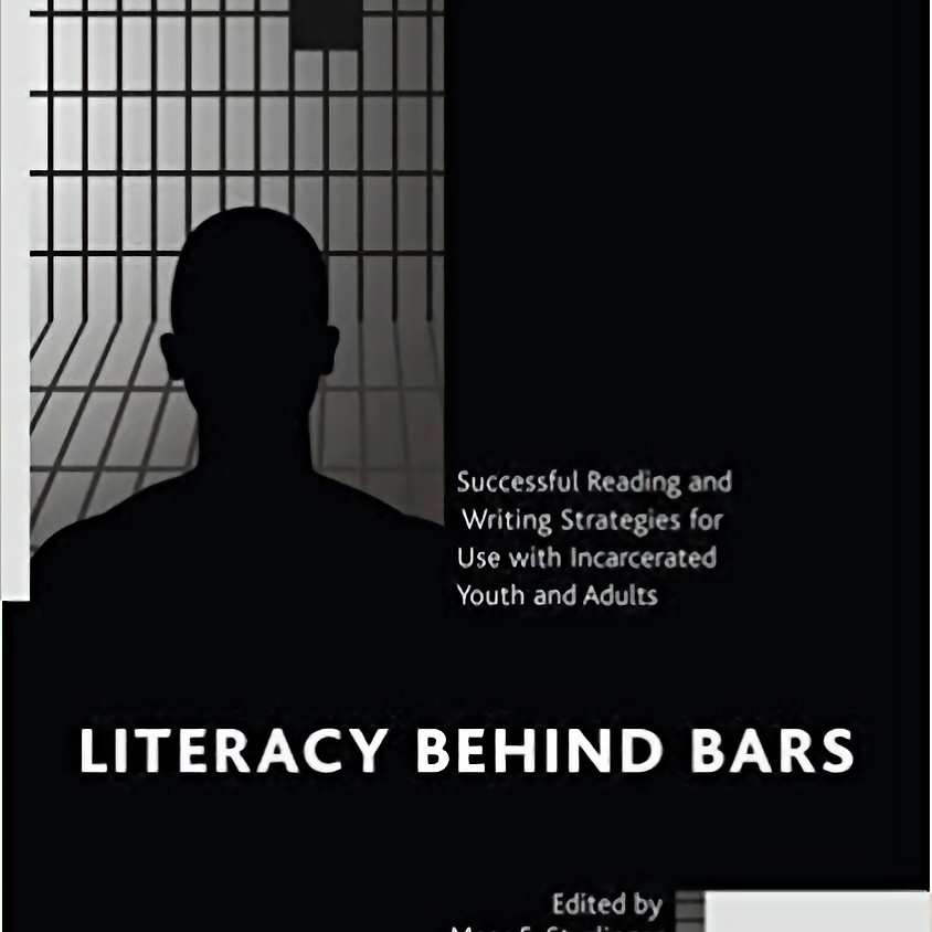 """Book Discussion: """"Literacy behind bars"""""""