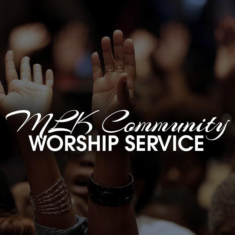 MLK Community Worship Service