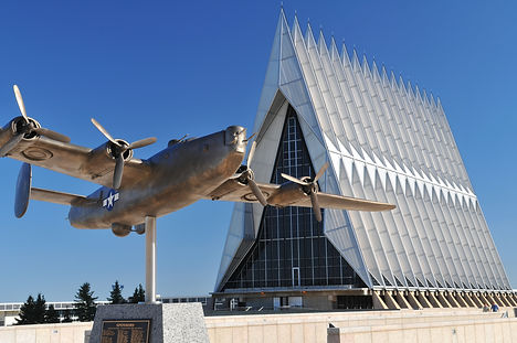United States Air Force Academy Chapel w