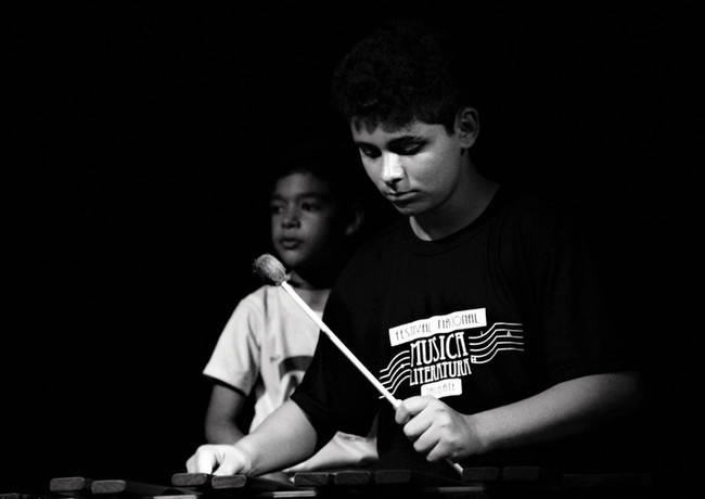 Taubaté, SP - Xilofonista Guilherme Santos