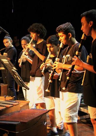 Taubaté, SP - Grupo de Flautas da Profa Denise Marques