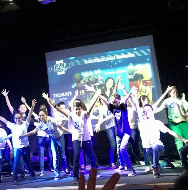 Taubaté, SP - Coral Infantil Musica e Cidadania