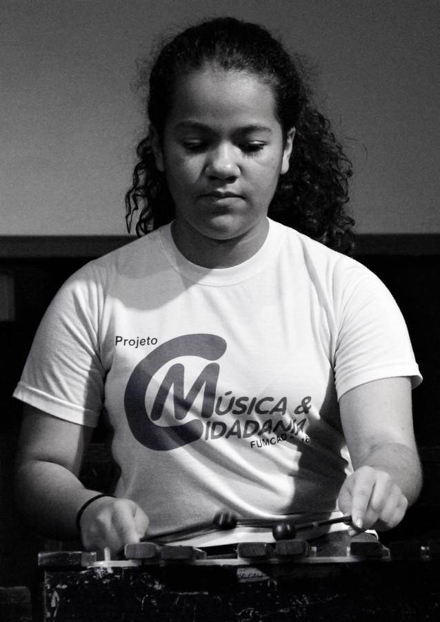 Taubaté, SP - Xilofonista Duda Castro