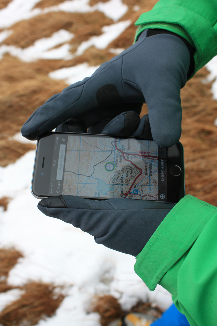 Maps vs GPS