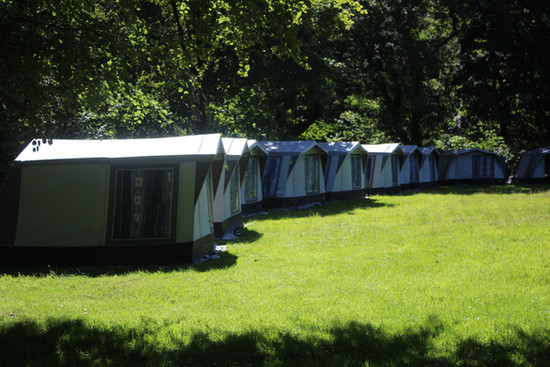Accomodation Tents at Littledale