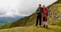 Scrambling Blencathra