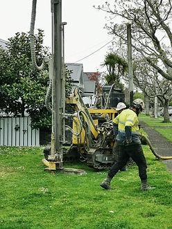 Site Investigation - Machine Borehole