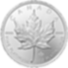 Platinum Canadian Maple Leaf