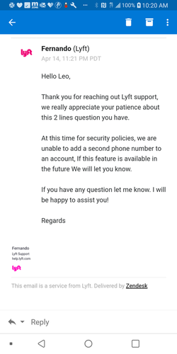 Phone Entanglement Not Allowed