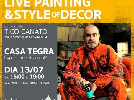 Exposição Casa Tegra Com Participação de Tico Canato e Casa Oliveira Import