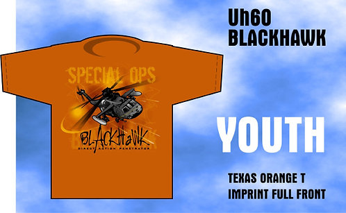 Youth Special Forces BlackHawk T-Shirt