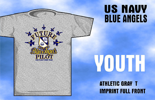 Future Blue Angel Youth T-Shirt
