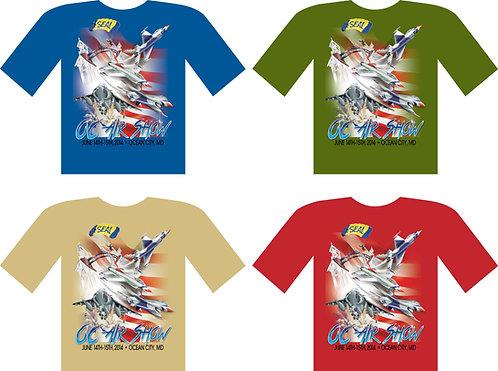 Ocean City Air Show 2014 Official Event T-Shirt