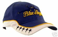 Blue and White Blue Angel Cap