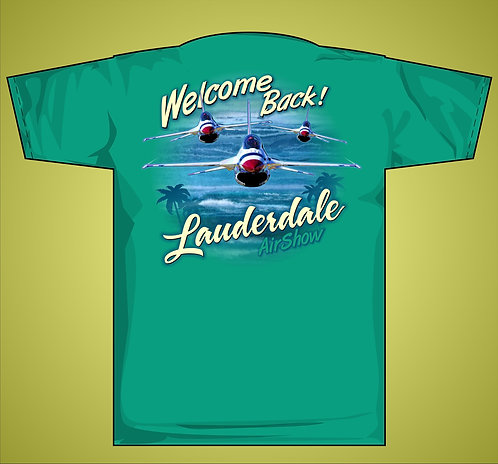 Ft Lauderdale Air and Sea T-Shirt