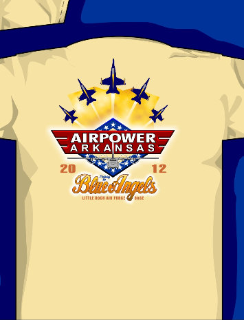 Air Power Over Arkansas T-Shirt