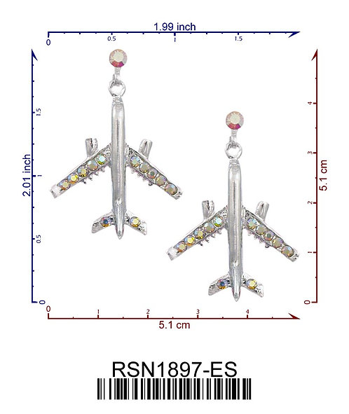 737 Crystal Earrings