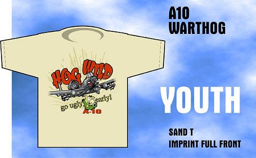 Youth A-10 Hog Wild T-Shirt