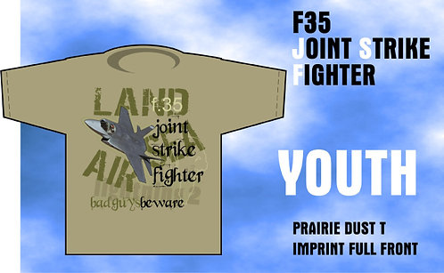 Youth F-35 Joint Strike Fighter T-Shirt