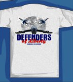 Defenders Of Liberty Barksdale AFB T-Shirt