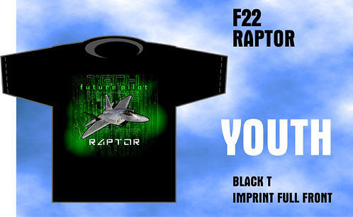 Youth F-22 Rapter T-Shirt