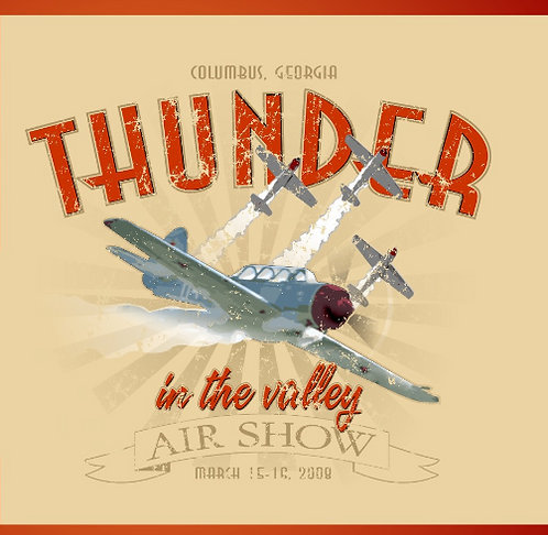 Thunder in thr Valley Air Show T-Shirt