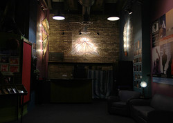 Lifeline Theatre installation