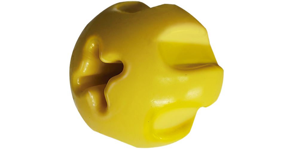Pelota Maciza C/ Textura y Orificio  Furacaopet