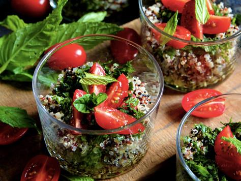 Taboulé de quinoa IP-Suisse