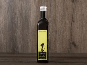 Magnifique champ de colza pour une huile 100% Vaudoise, que vous retrouvez sur notre shop en ligne.