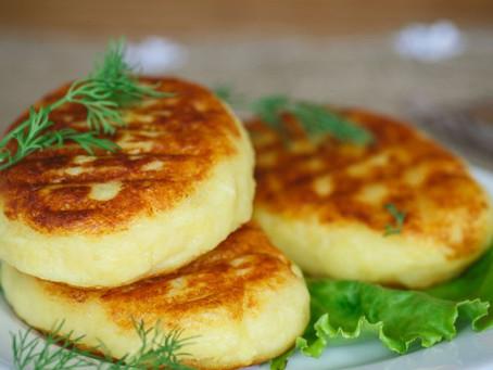 Galettes de flocons d'avoine au fromage