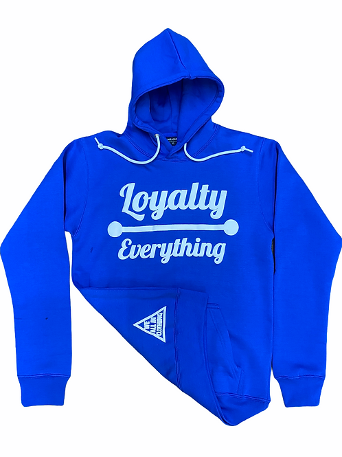 Loyalty over Everything Hoodies (Men)