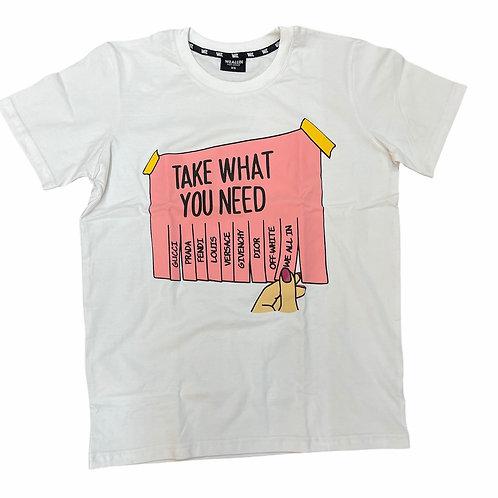 take what you need t-shirt