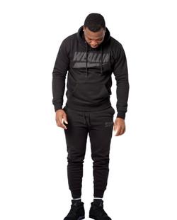 Black Thunderbolt Sweatsuit