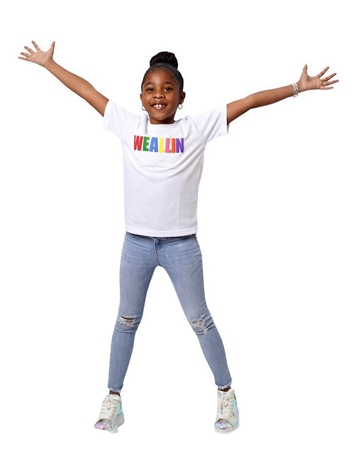 We All In Signature Kids T-shirts