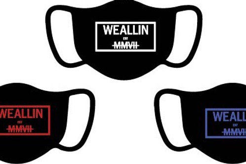 WE ALL IN MMVII Mask