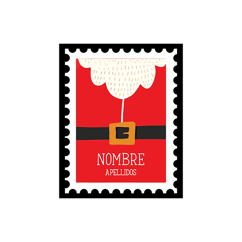 Stamps Stickers - 36 (und)