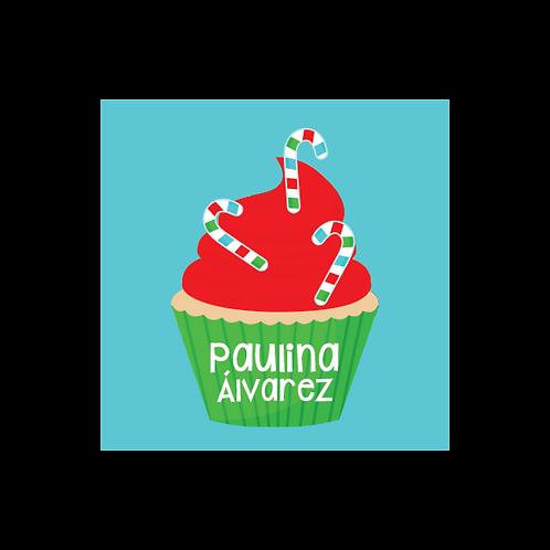 Cupcake Stickers - 35 (und)