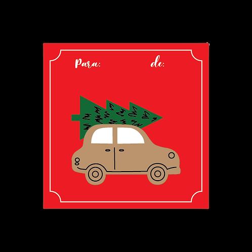 Just Christmas Stickers - 6 (und)