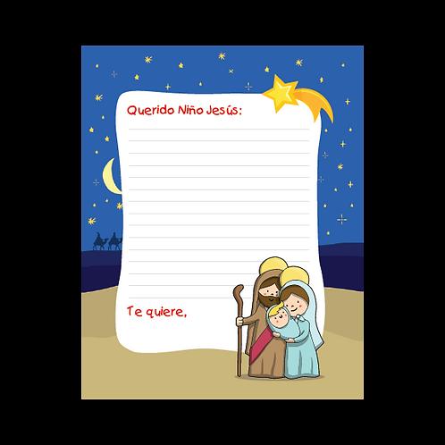 Carta al Niño Jesús - Nacimiento 2 (und)