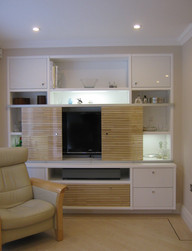 TV unit, sliding fronts